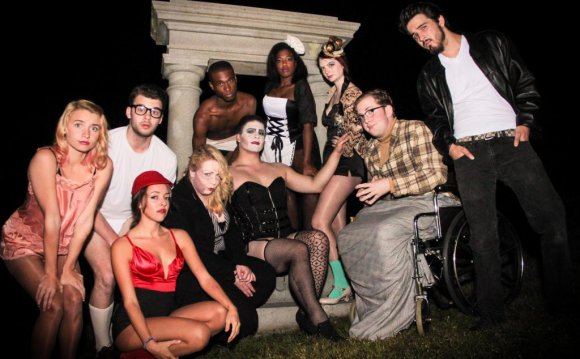 """The Rocky Horror Show"" on"