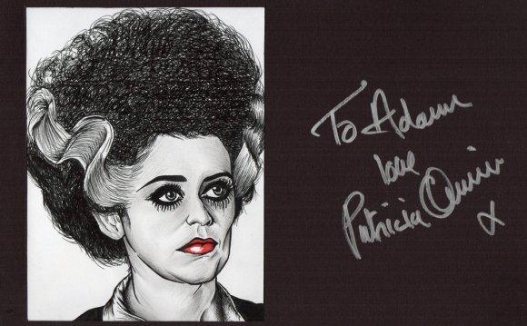 Autographed - Patricia Quinn