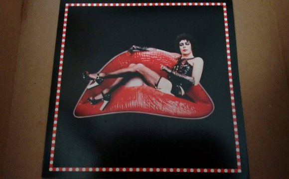 Rocky Horror trivia game board