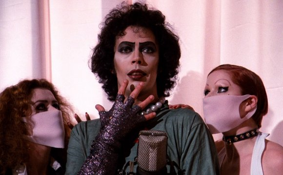 The cast of The Rocky Horror