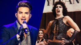 Adam Lambert Tim Curry Rocky Horror