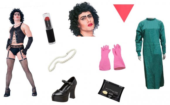 Rocky Horror Frank-N-Furter costume