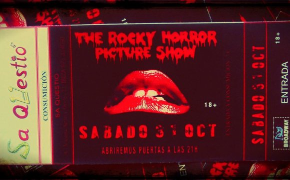 Rocky Horror Picture Show audience participation Guide