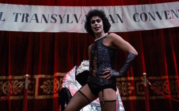 Transvestite Rocky Horror Picture Show