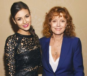Victoria Justice and Susan Sarandon