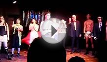 Cast of The Rocky Horror show sing Happy Birthday to Cassie