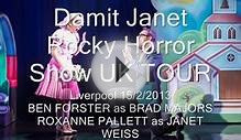 Damit Janet- Rocky Horror Show UK Tour Liverpool