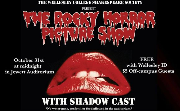 Midnight showing of Rocky Horror Picture Show